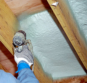 Smyrna spray foam insulation